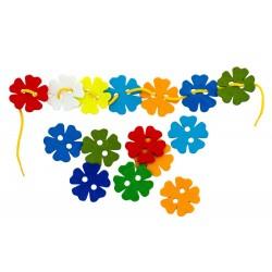 Шнуровка Цветы