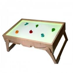 Сенсорный стол-песочница
