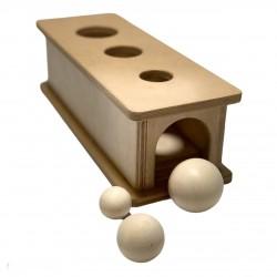 Коробочка-горка с шариками №2