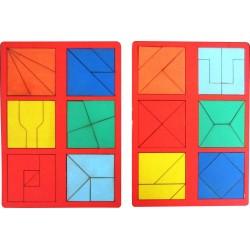 Сложи квадрат Б.П.Никитин 2 уровень (мини)