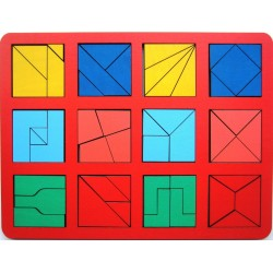 Сложи квадрат Б.П.Никитин 2 уровень (макси)