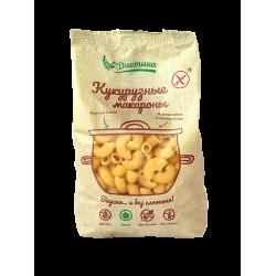 Макаронные изделия из кукурузной муки Рожок большой 300 гр