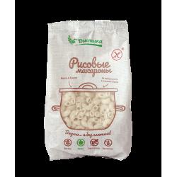 Макаронные изделия из рисовой муки Большой Рожок 250 гр