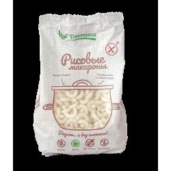 Макаронные изделия из рисовой муки Рожок средний 250 гр