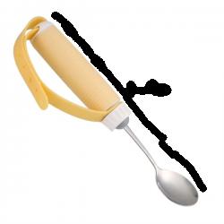 Ложка с ручкой-фиксатором