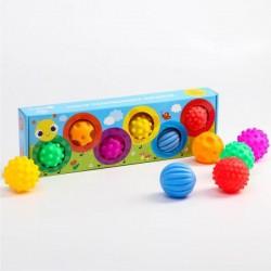Набор массажных развивающих мячиков «Гусеница»